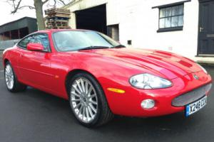 "00 X Jaguar XK8 4.0 Auto Coupe Phoenix Red Oatmeal Leather *SAT NAV, 20"" Alloys*"