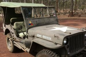 1945 Willys Army Jeep IN Good Condition Previously ON Club Plates in Maiden Gully, VIC