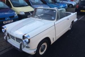 Triumph Herald PETROL MANUAL 1967/E Photo