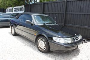 Saab 900 S 2 3i 1998 Convertible 4 SP Automatic 2 3L Multi Point F INJ in Little Mountain, QLD