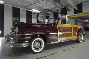 Chrysler : Town & Country Woody Convertible