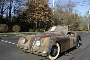 Jaguar : XK 120 Photo