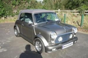 1994 Rover Mini Cabriolet in rare Grey with lots of upgrades and 30,000 miles
