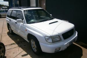 Subaru Forester GT 2001 4D Wagon Manual 2L Turbo Mpfi 5 Seats