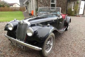 1954 MG TF 1250 Manual Black