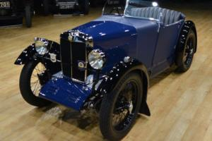 1929MG M Type Midget with 4 speed box.