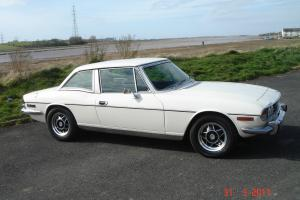 1977 TRIUMPH STAG WHITE  Photo
