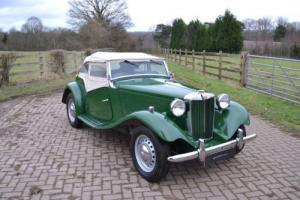1953 MG TD Sports Photo