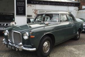 1965 Rover 3 LITRE P5 Saloon Automatic - Great History Photo