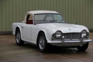 Triumph TR4 rare White dash model,1962 with only 63k miles. Watch our HD video