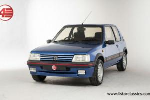 FOR SALE: Peugeot 205 1.6 GTi