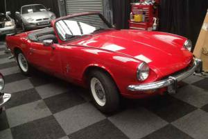 1970 Triumph Spitfire MK3 Red  Photo
