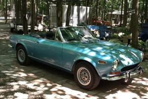 Fiat : Other Fiat spyder 124, 1971 convertible