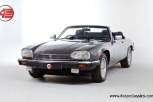 FOR SALE: Jaguar XJS V12 Convertible 1990