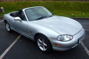 Mazda MX-5 FINISHED IN SILVER WITH BLACK INTERIOR BEAUTIFUL CONDITION