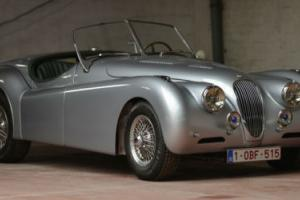 1954 Jaguar XK140 Aluminium body roadster. Photo
