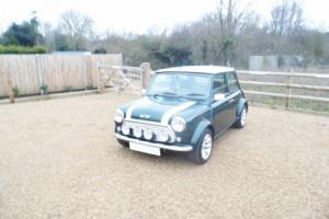 2000 Classic Rover Mini Cooper Sport in British Racing Green and 16,000 miles Photo