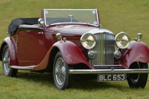 1934 Derby Bentley 3 1/2 Litre Park Ward Drop Head Coupe. Photo