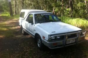Subaru Brumby UTE 1992 in Mooloolah Valley, QLD