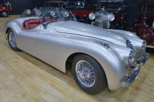 1950 Jaguar XK120 OTS Roadster.