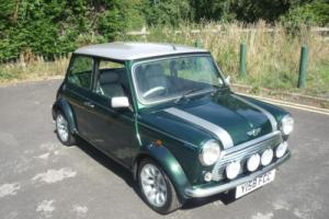 2001 Classic Rover Mini Cooper Sportspack in British Racing Green
