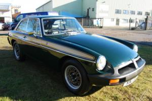 MG B GT JUBILEE EDITION rubber bumper 1.8, recent repspray, leather interior