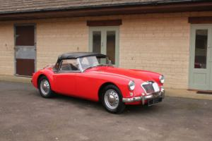1957 MG A Roadster 1500 Photo