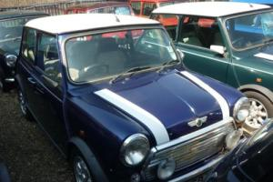 1998 Classic Rover Mini Cooper in Tahiti Blue