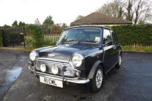1997 Classic Rover Mini Cooper in Graphite Grey and just 5,300 miles