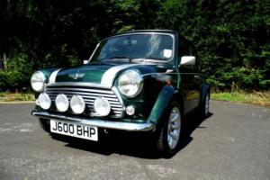 Rover Classic Mini Cooper Sport 500 in British Racing Green only 1,530 miles