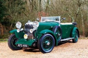 1932 Lagonda 16/80 Special Speed Six Open Tourer