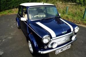 2000 Classic Rover Mini Cooper in Tahiti Blue and just 18,000 miles
