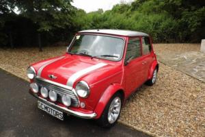 2000 Classic Rover Mini Cooper Sport in Solar Red just 10,000 miles