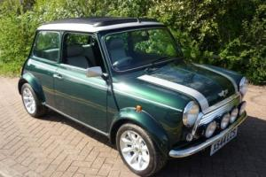 2000 Classic Rover Mini Cooper Sport in British Racing Green only 163 miles Photo