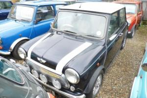 2000 Classic Rover Mini Cooper in Anthersite Grey