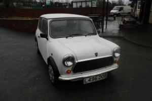 1993 Classic Rover Mini Sprite Automatic in White only 33,000 miles Photo