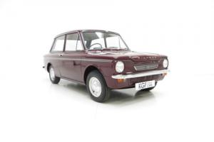 An Incredible Hillman Super Imp Mark II with Two Owners and Just 31,838 Miles.
