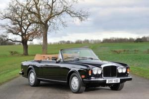 1987 Bentley Continental Drophead Coupé by Mulliner Park Ward