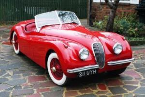 1954 Jaguar XK120SE Roadster