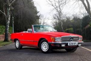 1985 Mercedes-Benz 280SL Roadster