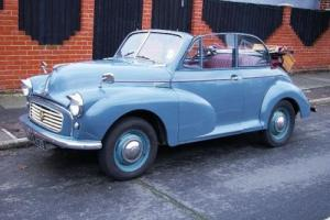 1956 Morris Minor Split Screen Convertible