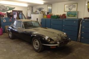 Jaguar E-Type Series 3 V12 1973 Coupe Black Manual ** UK CAR MATCHING NUMBER ** Photo