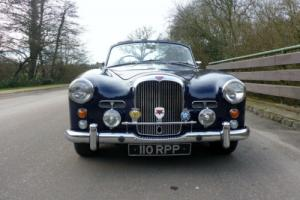 1961 Alvis TD 21 DROPHEAD COUPE MANUAL DARK BLUE