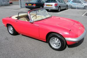 1966 LOTUS ELAN S3 SE DROPHEAD CONVERTIBLE 39585 MILES Photo