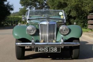1954 MG TF1250 FABULOUS HISTORY