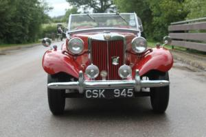 1952 MG TD GREAT VALUE
