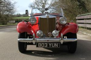 1953 MG TD RESTORED ABSOLUTELY STUNNING CONDITION