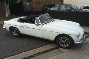 MG/ MGF B ROADSTER 1972 ROAD TAX FREE CHROME BUMPER OVERDRIVE