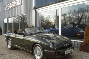1996 MG RV8 GREEN MET CREAM LEATHER GENUINE 5,000 MILES FROM NEW