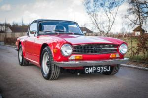 1970 Triumph TR6 150BHP - Signal Red With Black Leather - Truly Exceptional Photo